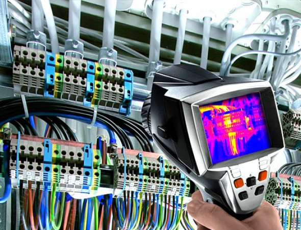 Тепловизионная диагностика инженерных систем