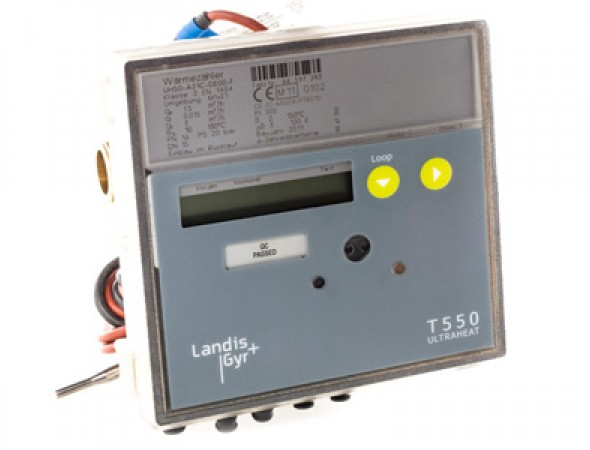Теплосчетчик Ultraheat-T550(UH50), (Landis+Gyr)